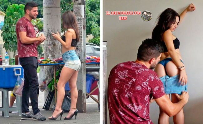 CatchingGoldDiggers - Showing No Mercy To A Gold Digger Teen Brazilian